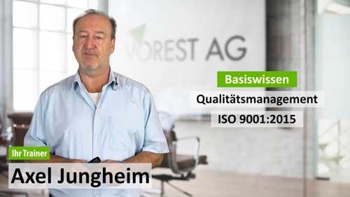 Online Ausbildung Qualitätsmanagement ISO 9001
