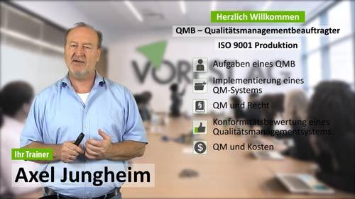 QMB Ausbildung der VOREST AG