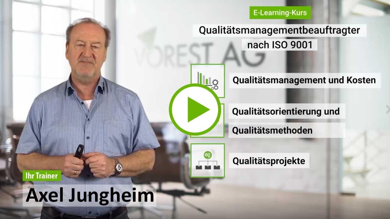QMB Online Ausbildung - Demo Kurs zu Ihrer E-Learning Schulung