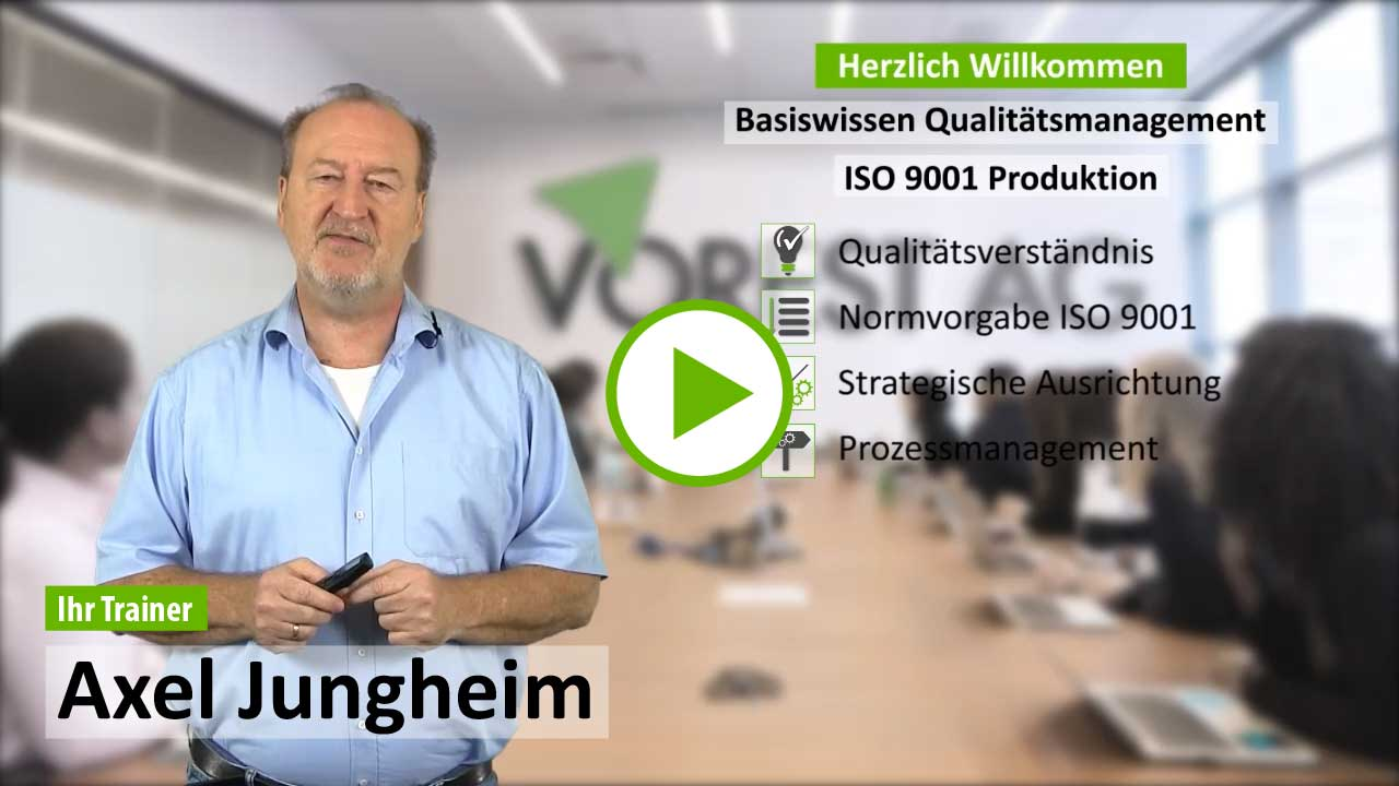 Ausbildung ISO 9001
