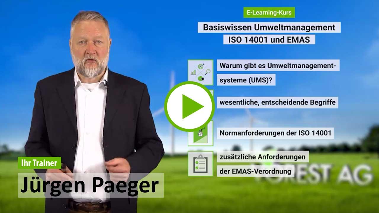 Ausbildung ISO 14001